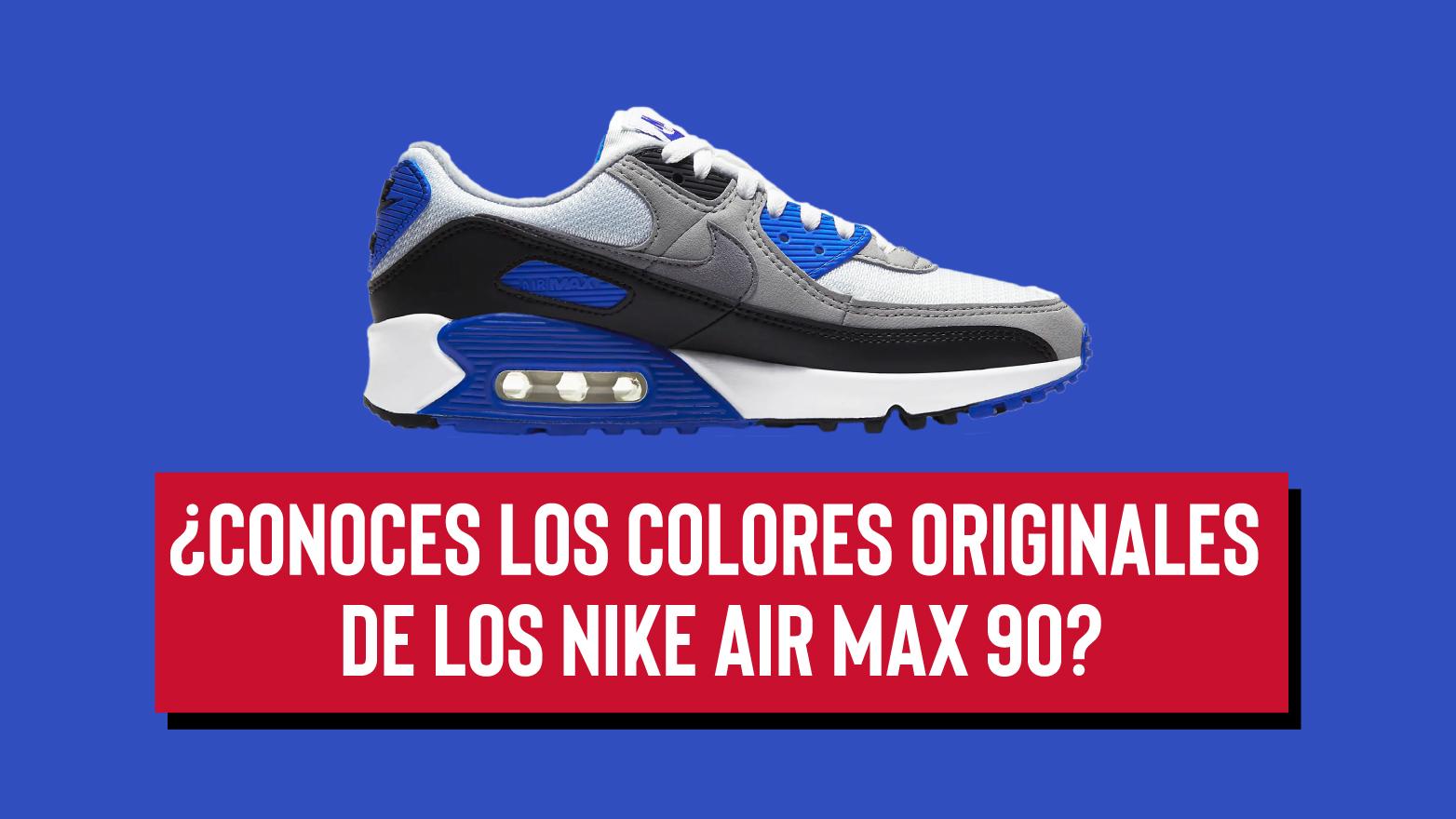 La historia detrás del Nike Air Max 90