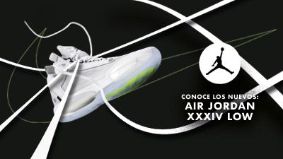 Las nuevas Air Jordan  XXXIV