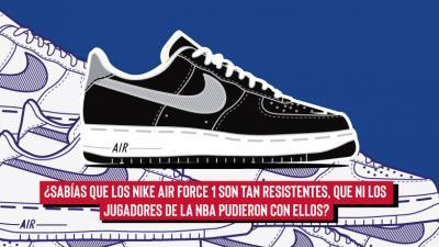 10 Cosas que no sabias acerca el Nike Air Force 1